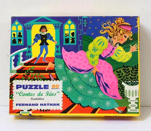 Puzzle vintage Cendrillon