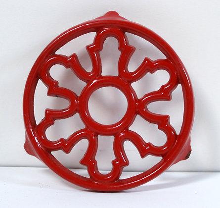Dessous de plat rouge