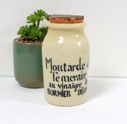 Ancien pot à moutarde