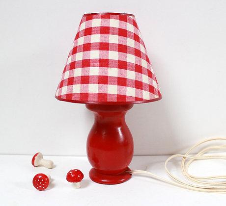 Petite lampe rouge