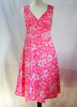 Robe rose esprit 50's
