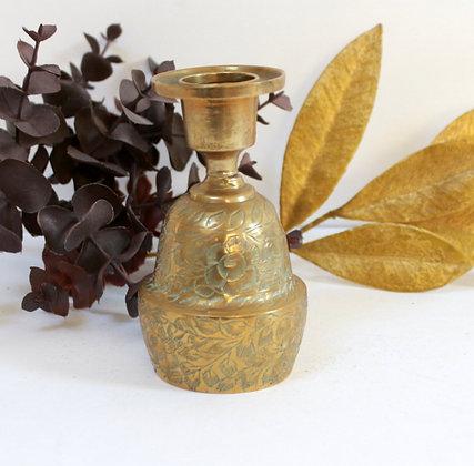 Clochette de table en bronze doré