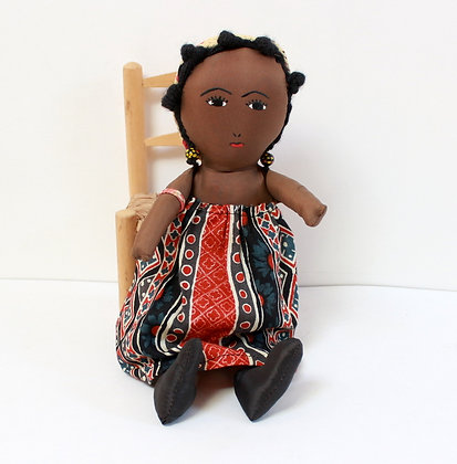 Petite poupée Malgache