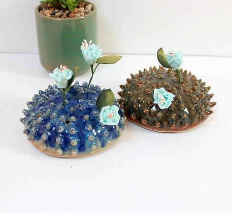 Oursins pique-fleurs