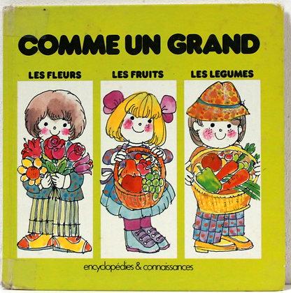 Les fleurs, les fruits, les légumes