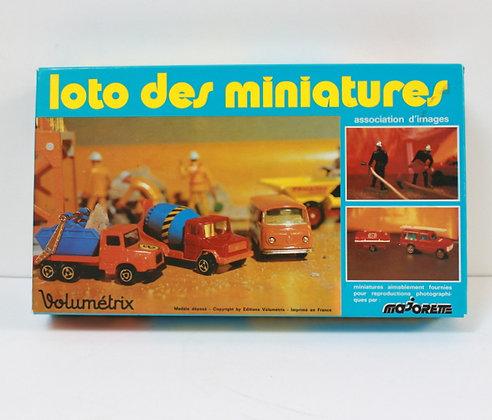 Loto des miniatures