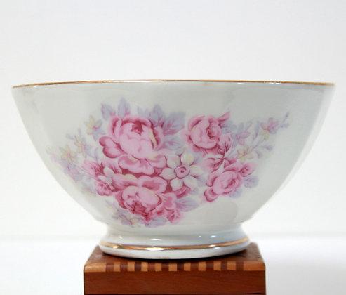 Bol ancien décor de roses