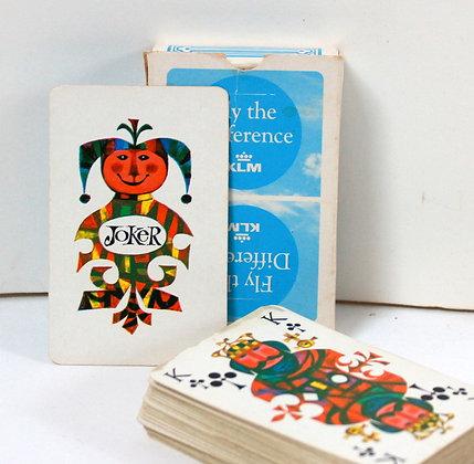 Jeu de cartes classiques KLM