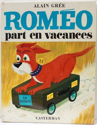 Roméo part en vacances