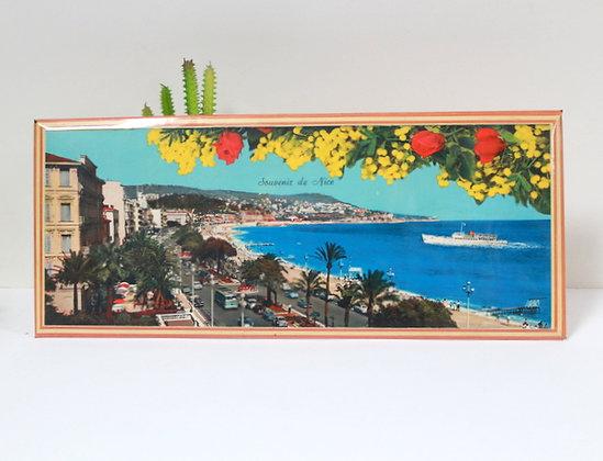 Lithographie souvenir de Nice