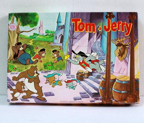 Jeu de tampons vintage Tom et Jerry
