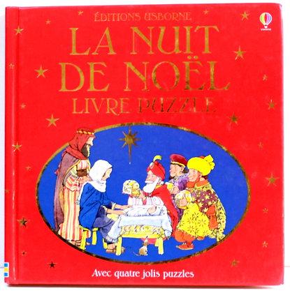La nuit de Noël - Livre puzzle
