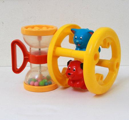 2 jouets vintage Playskool