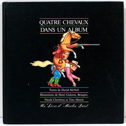 Quatre chevaux dans un album
