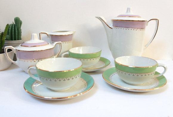 Service à thé l'Amandinoise