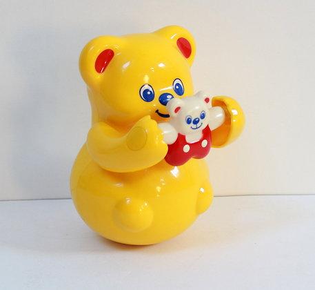 Culbuto oursonne et son petit