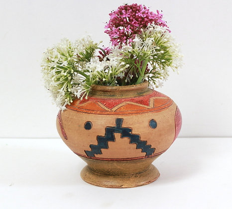 Petit vase ethnique