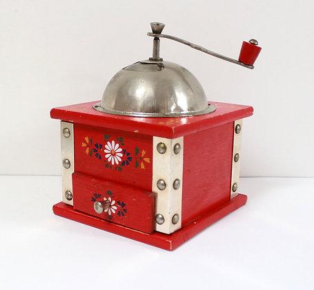 Moulin à café rouge