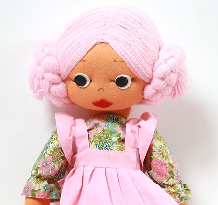 Grande poupée vintage