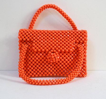 Petit sac en perles vintage pop et chic