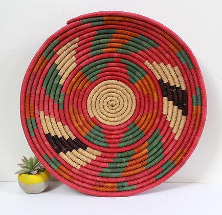 Panier du Sahara multicolore