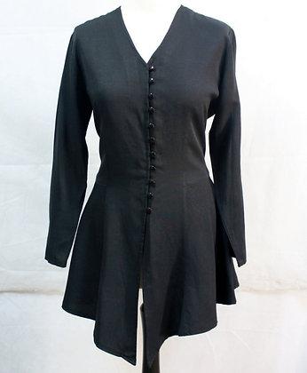 Chemise longue à basques