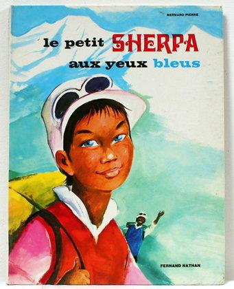 Le petit Sherpa aux yeux bleus