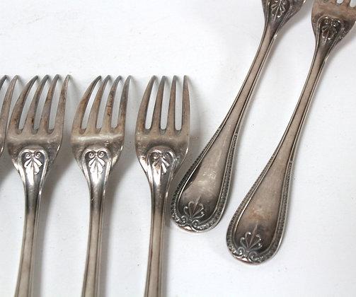 Fourchettes anciennes Christofle