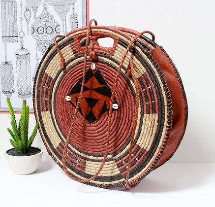 Grand sac panier rond