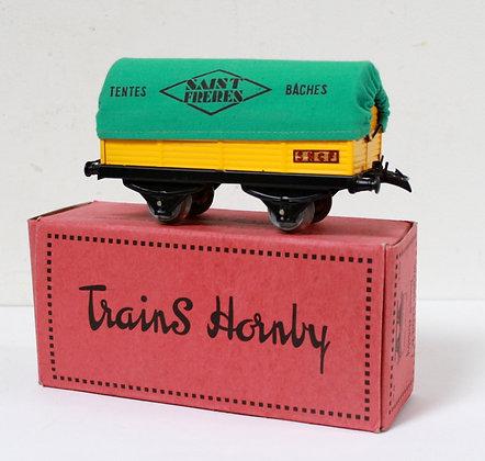 Wagon bâché n°1- Hornby / Meccano