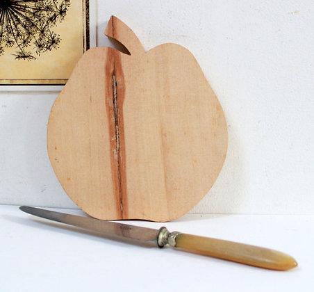 """Planche à découper """"pomme"""""""