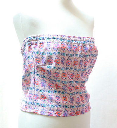 Top bustier pin up vintage 70's