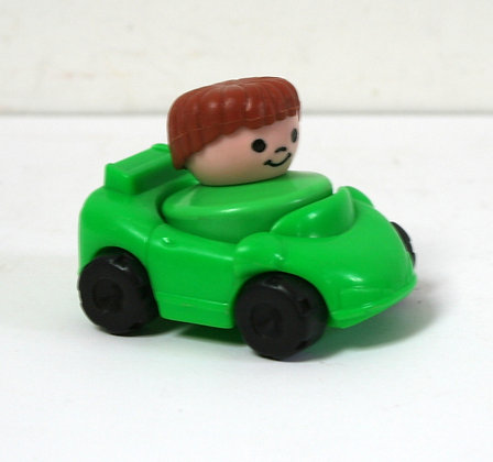 Petite voiture Fisher Price et son personnage