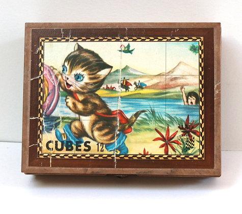 Petite boîte de cubes Les Contes