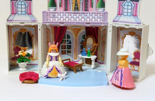 Playmobil chambre de princesse transportable