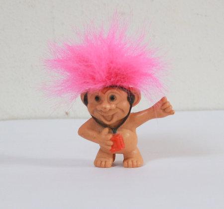 Figurine troll embout de crayon