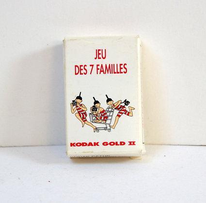 Mini-Jeu des 7 familles Kodak Gold II