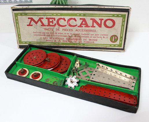 Meccano Boîte de pièces accessoires 1A