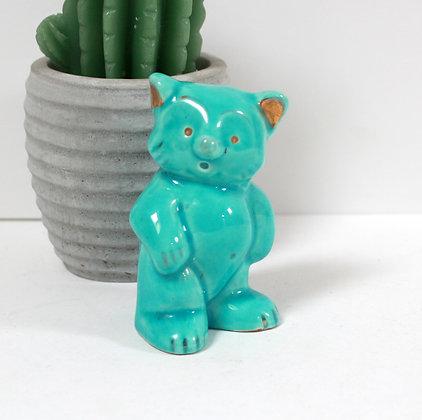 Figurine ancienne koala en céramique