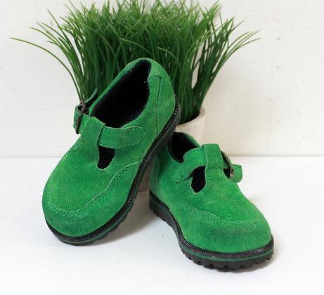 Chaussures vert pomme Babybotte