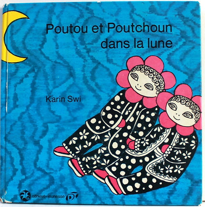 Poutou et Poutchoun dans la lune