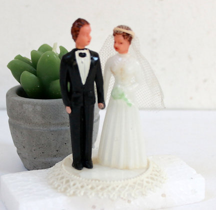 Top-cake mariés