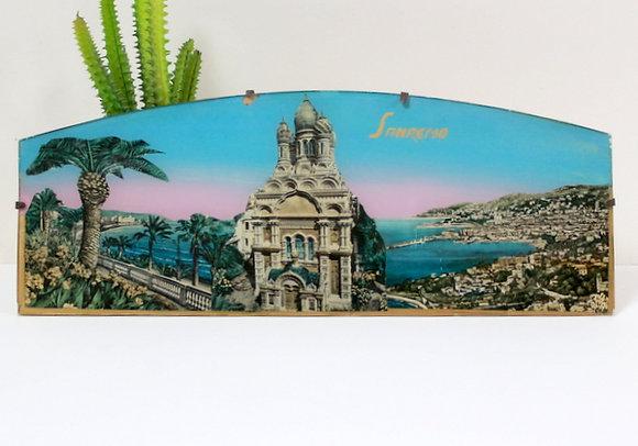 Lithographie sous verre Sanremo