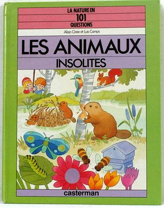 Les animaux insolites