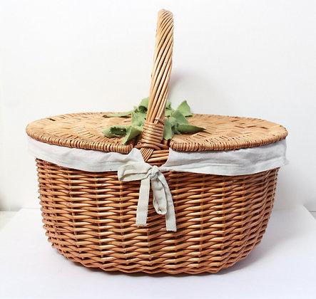 Panier de pique-nique en osier