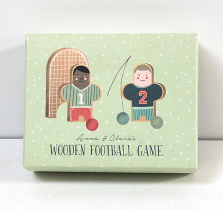 Petit jeu de foot en bois