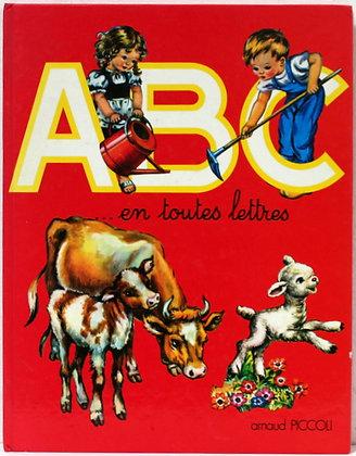 ABC...  en toutes lettres