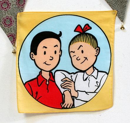 6 Mouchoirs Bob et Bobette