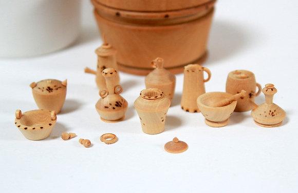 Miniatures en bois