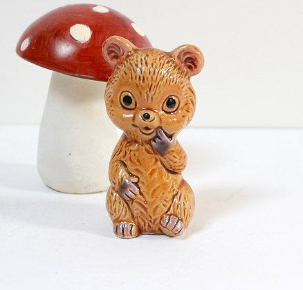 Figurine ancienne ourson
